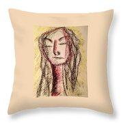 Art Therapy 156 Throw Pillow