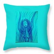 Art Therapy 166 Throw Pillow