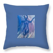 Art Therapy 17 Throw Pillow