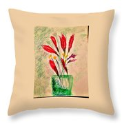 Art Therapy 179 Throw Pillow