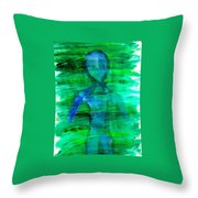 Art Therapy 181 Throw Pillow