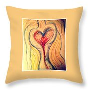 Art Therapy 184 Throw Pillow