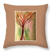 Art Therapy 185 Throw Pillow