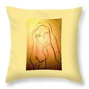 Art Therapy 197 Throw Pillow