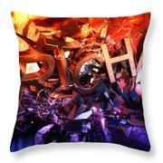Artchaos Throw Pillow