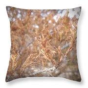Artful Nature Throw Pillow