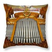 Arth Goldau Organ Throw Pillow