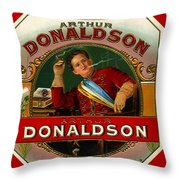 Arthur Donaldson Throw Pillow