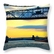 Arthur M Anderson Throw Pillow