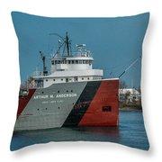 Arthur M Anderson Throw Pillow