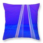Arthur Ravenel Jr Bridge Iv Throw Pillow