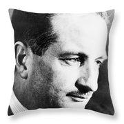 Arthur Train (1875-1945) Throw Pillow