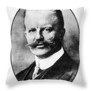Arthur Zimmermann (1864-1940) Throw Pillow