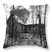 Artic Castle Throw Pillow