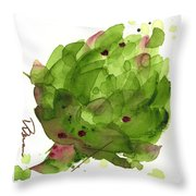 Artichoke II Throw Pillow