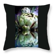 Artichoke Reflect Throw Pillow