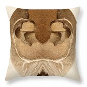Artifact 7 Throw Pillow