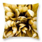 Artificial Flower Throw Pillow