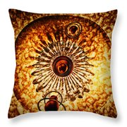 Artificial Galaxy Throw Pillow