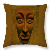 Artificial Intelligence Entity Throw Pillow