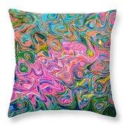 Artistic Alchemy Throw Pillow