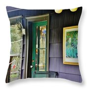 Artistic Front Throw Pillow