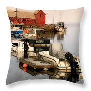 Artistic Rockport Throw Pillow
