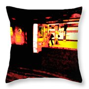 Artistic Visions Nyc Throw Pillow