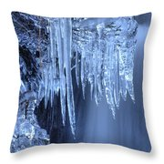 Artistry In Ice 16 Throw Pillow