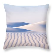 Artistry In The Sand Throw Pillow