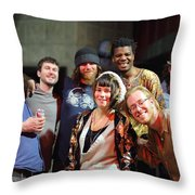 Artists Artists Artists Throw Pillow