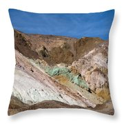 Artist's Colors Throw Pillow