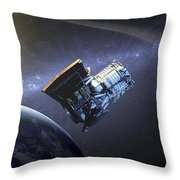 Artists Concept Of The Wide-field Throw Pillow by Stocktrek Images