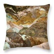 Artists Palette Throw Pillow