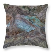 Artists Pallet Death Valley Ca Img 0448 Throw Pillow