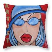Artists Stores Throw Pillow