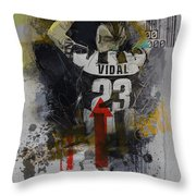 Arturo Vidal - B Throw Pillow