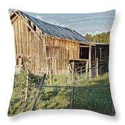 Artwork Barn Throw Pillow