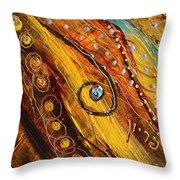 Artwork Fragment 100 Throw Pillow
