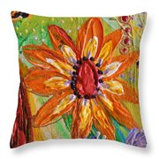 Artwork Fragment 103 Throw Pillow