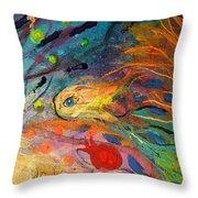 Artwork Fragment 12 Throw Pillow