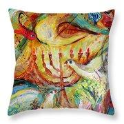 Artwork Fragment 20 Throw Pillow