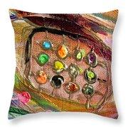 Artwork Fragment 43 Throw Pillow