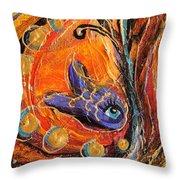 Artwork Fragment 88 Throw Pillow