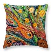 Artwork Fragment 92 Throw Pillow