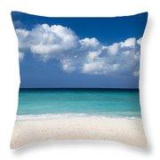 Aruba Beach Throw Pillow