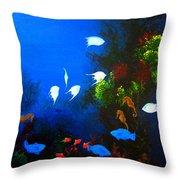 Aruba Reef Throw Pillow