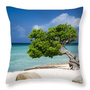 Aruba Tree Throw Pillow