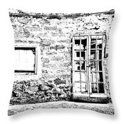 Arzachena Shop Throw Pillow