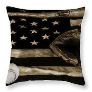 As American As Apple Pie Throw Pillow